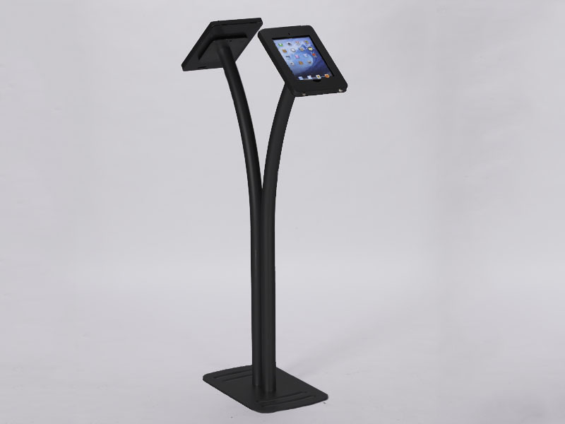 MOD-1334 Portable iPad Kiosk -- Black