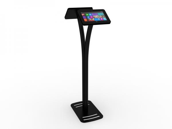 MOD-1334M Portable Surface 2 Kiosk -- Black