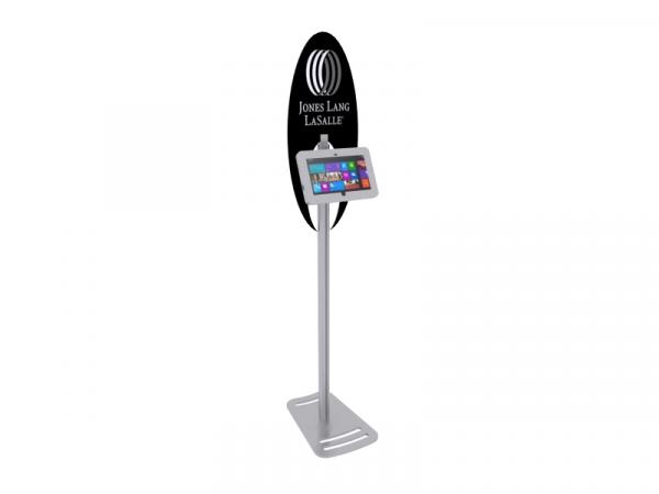 MOD-1368M Portable Surface 2 Kiosk -- Silver